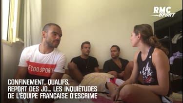Confinement, qualifs, report des JO... Les inquiétudes de l'équipe française d'escrime