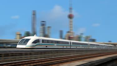 """Le """"Maglev"""" chinois se déplacerait à une vitesse de 620 km/h"""