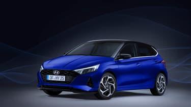 Hyundai i20, des lignes modernes et dynamiques