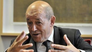 Le ministre de la Défense, Jean-Yves Le Drian.