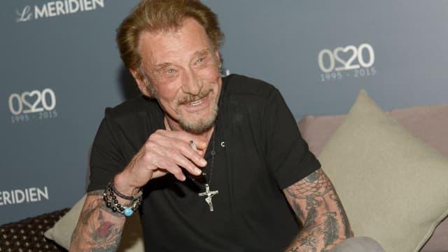 Johnny Hallyday s'était fait tatouer une dizaine de fois sur les bras.