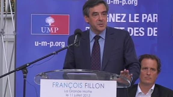 François Fillon tenait un meeting ce jeudi à La Grande-Motte.