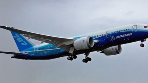 Le 787 de Boeing. Selon l'OMC l'Etat américain a accordé plus de cinq milliards de dollars de subventions illégales entre 1989 et 2006.