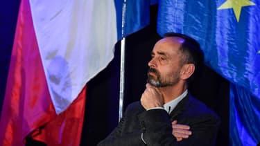 Robert Ménard à un meeting pour élections municipales à Sète, le 22 janvier 2020