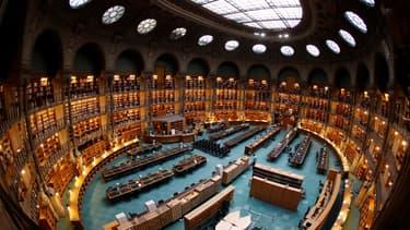 La salle ovale de la BNF