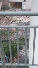 Tempête Ciara: un mur s'écroule à Roubaix à cause du vent violent - Témoins BFMTV