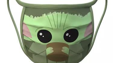 """Un masque de protection """"Baby Yoda"""""""