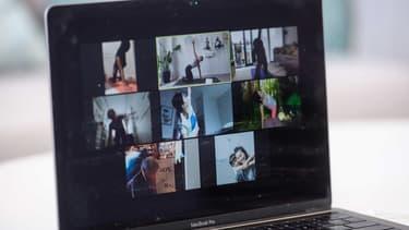 L'application de visioconférence Zoom est devenue un outil de communication incontournable pendant le confinement.