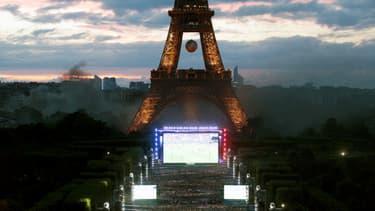 Un écran géant va être installé au Champ de Mars dimanche, comme en 2016 pour l'Euro de football.