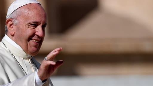 Le pape François le 11 octobre au Vatican