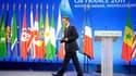 Nicolas Sarkozy à Deauville pour le G8. Les pays du G8 se sont engagés vendredi à octroyer des dizaines de milliards de dollars aux pays du monde arabe, Égypte et Tunisie en tête, qui choisiront la voie de la démocratie et des réformes économiques. /Photo