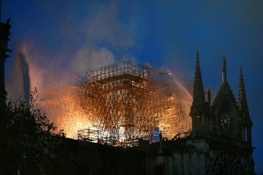 Notre-Dame en flammes le 15 avril 2019