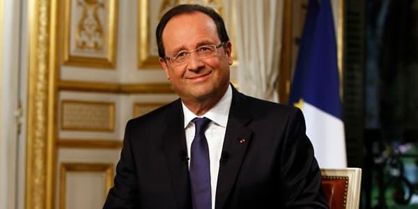 Le président François Hollande en septembre 2013.