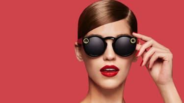 Les lunettes connectées de Snapchat.