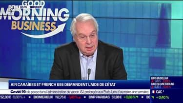 """Marc Rochet (Vice-Président d'Air Caraïbes & Président de French bee): """"Nous allons remettre 15 à 20% de sièges en plus"""" (par rapport à 2019) pour cet été. """"Nous avons de quoi répondre à la demande de notre clientèle"""""""