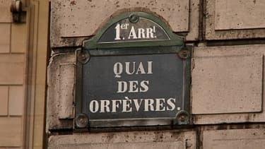 Le quai des Orfèvres, à Paris, où se trouve le siège historique de la police judiciaire parisienne.