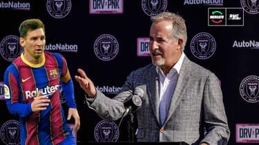 """Mercato : Le patron de l'Inter Miami """"optimiste"""" sur une future arrivée de Messi"""