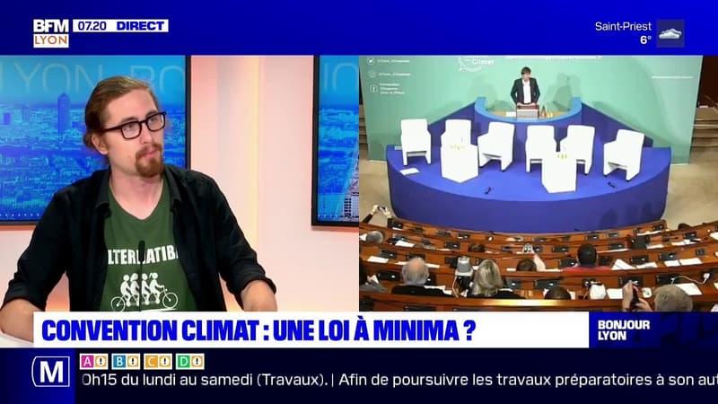 Charles de Lacombe, militant écologiste, était l'invité de BFM Lyon