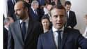 Emmanuel Macron, Edouard Philippe, le jour de la présentation du gouvernement, le 18 mai 2017.