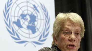 La magistrate suisse Carla Del Ponte, membre de la commission d'enquête indépendante de l'Onu sur les violences en Syrie, a déclaré lundi que, selon des témoignages recueillis par des enquêteurs des Nations unies, des insurgés syriens se sont servis de ga
