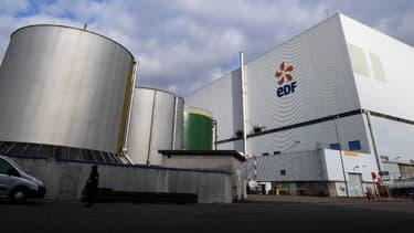 La centrale nucléaire de Fessenheim (Haut-Rhin)
