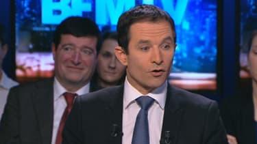 Benoit Hamon était l'invité de BFM TV ce dimanche 2 mars.