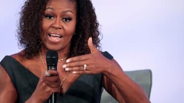 Michelle Obama le 29 octobre dernier à Chicago.