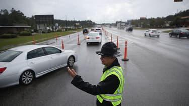 (Photo d'illustration) Un contrôle du trafic sur une route aux Etats-Unis, en Caroline du Sud