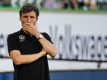 Mark van Bommel, l'entraîneur de Wolfsburg.