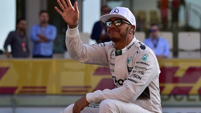 Lewis Hamilton après son troisième titre mondial