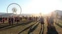 Des festivaliers à Coachella lors de l'édition 2016