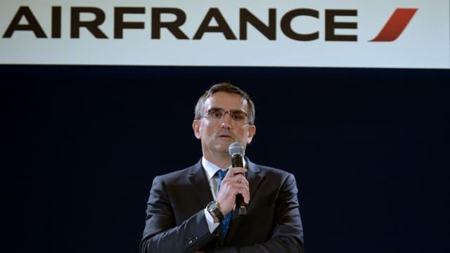 Le 5 octobre, Xavier Broseta le DRH d'Air France avait été violemment bousculé après le Comité central d'entreprise.