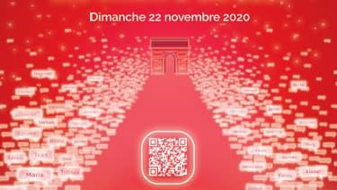 Illuminations des Champs-Elysées 2020