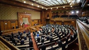 La chambre haute du parlement au Japon