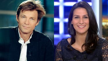 Laurent Delahousse et Marie Drucker