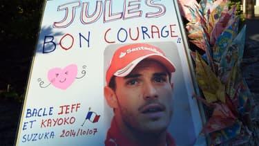 """Jules Bianchi est toujours """"inconscient mais est capable de respirer seul""""."""