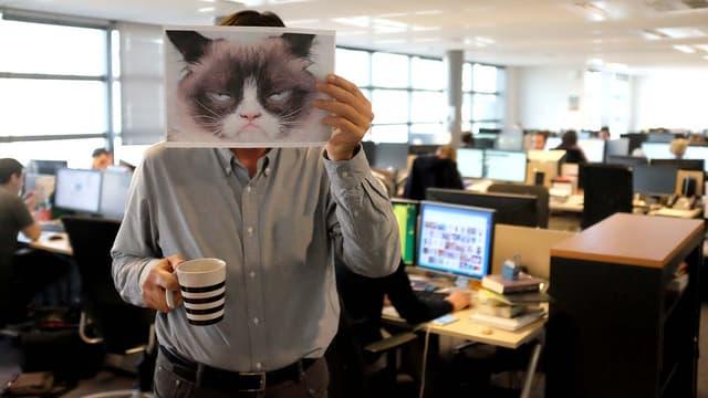 Les employés de bureaux peuvent parfois se montrer râleurs.