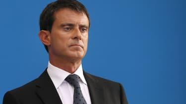"""Manuel Valls se dit """"atterré"""" par le comportement de Thomas Thévenoud."""