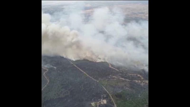 En Sardaigne, 20.000 hectares partis en fumée en trois jours