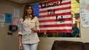 Melania Trump a rendu une visite surprise à un centre pour enfants à la frontière mexicaine au Texas, le 21 juin 2017.