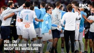 """PSG - OM : Valbuena salue """"le grand match"""" des Marseillais"""