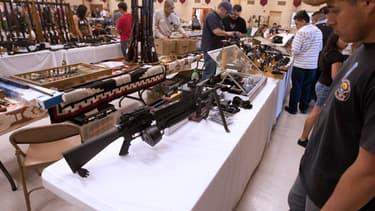 Le 17 avril dernier le Sénat américains a retoqué la loi limitant la vente d'arme souhaité par Obama.
