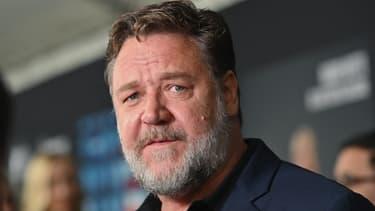 L'acteur néo-zélandais Russell Crowe en 2019 à Paris.