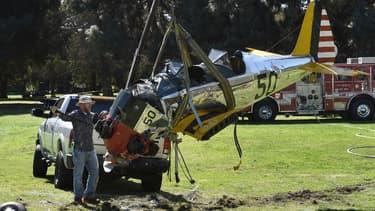 Harrison Ford avait dû tenter de poser en catastrophe jeudi son petit avion sur un terrain de golf près de Los Angeles.