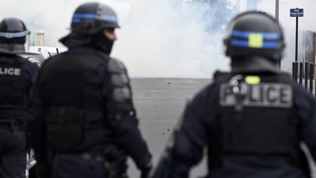 Des policiers à Nantes le 4 juillet.