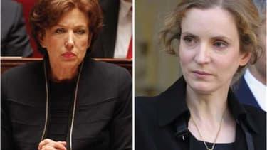 """L'UMP, qui inaugure mardi à l'Assemblée son rôle de premier opposant de France, continue de se déchirer sur les racines de la défaite, une autocritique que Nathalie Kosciusko-Morizet et Roselyne Bachelot, notamment, souhaitent pousser jusqu'au """"travail d'"""