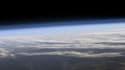 La fine pellicule de l'atmosphère terrestre.