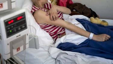 Une mère de famille a reçu 216 jours de RTT de ses collègues pour rester auprès de son fils malade (illustration).