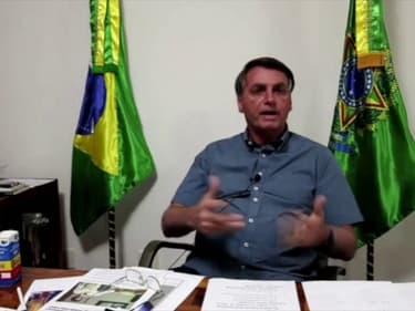 """Brésil: Jair Bolsonaro appelle les personnes âgées et fragiles """" à se protéger du Covid-19"""""""