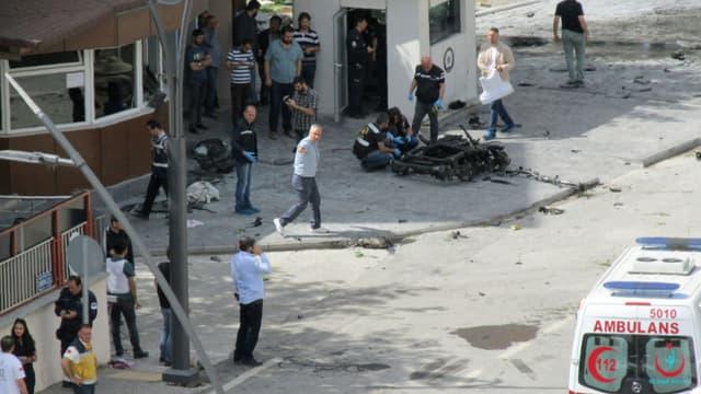 L'explosion d'une voiture piégée à Gaziantep, en Turquie, le 1er mai 2016. (image d'illustration)